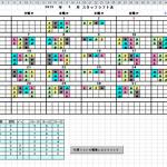 歯医者さんのスタッフのシフト表自動作成システム紹介